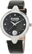 Versus by Versace Women's SCI080016 V Versus Analog Display Quartz Black Watch
