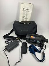 Sony Dcr-Trv25 Digital MiniDv Camcorder - Records Transfers Watchs Mini Dv Tapes