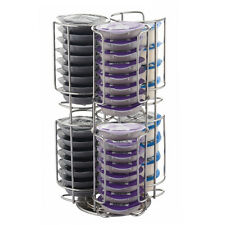 Coffee Capsule Pod Dispenser 48 Stainless Steel Holder Stand Rack for Tassimo