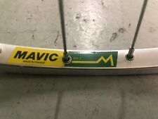 NOS Mavic MA2 700c clincher 36h Front rim With Sovos  110mm Hub