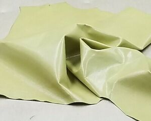 Green Sheep Skin Leather Hide Crafts Binding Handbag Upholstery Lining Wallet