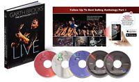 Garth Brooks Anthology Part 3 Live 2018 Book & 5 CD Set