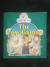 THE COW GAMES - A COCKY'S CIRLE LITTLE BOOKS - PAPERBACK BY SARAH IRVINE