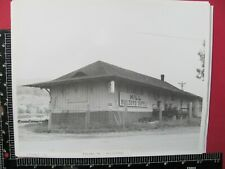 SHOUNS TENNESSEE OLD SOUTHERN RAILROAD STATION B&W PHOTO HILLS BUILDERS SUPPLY