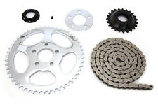 Transmission sprocket conversion kit to convert belt to chain fits XL 91-up