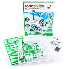 Robot 6 en 1 KIT JUGUETE Energía Solar Educativo Experimento Ciencia j01