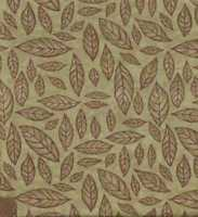 Migration green feathers leaves Holly Taylor Moda fabric
