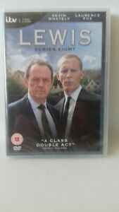 Lewis - Series 8 [2014] (DVD) Kevin Whately, Laurence Fox new sealed.