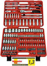 FAMEX 525-16 Profi Steckschlüsselsatz Ratschenkasten Nusskasten Werkzeugkoffer