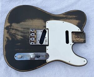 Fender Spec Telecaster Guitar Body Nitrocellulose - Unfinished Project