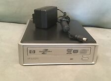 HP DVD1270e External DVD Writer / Burner Lightscribe - Multiformat - GENTLY USED