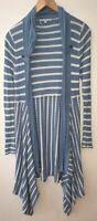 Ladies Store Twenty One Blue Cardigan Size 10 <NZ298