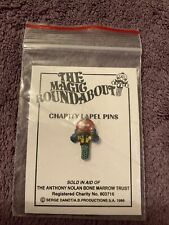 More details for the magic roundabout pin badge zebedee