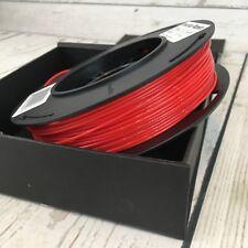 MakerBot True Red PLA Small Spool  Filament 0.5lb MP05789 3D Printing Rare S
