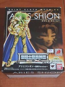 Saint Seiya Myth Cloth EX Aries Shion Gold Bandai