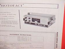 1964 PEARCE-SIMPSON CB RADIO SERVICE SHOP MANUAL MODEL ESCORT