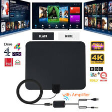 980 Mile 4K TV Antenna Digital Indoor HDTV Aerial Signal Amplified Freeview Thin