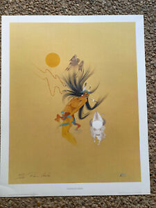 Sundance Vision By Rance Hood Signed and/or Numbered