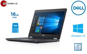 """Dell Latitude E5470 14"""" Intel i-5 6300U 3.0GHz 16GB RAM 256GB SSD Win10 Pro ( A)"""