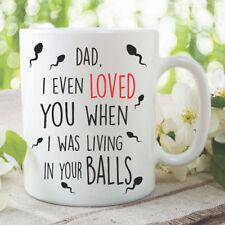 Funny Novelty Mugs Coffee Cup Dad Mug Fathers Day Gift Birthday Mugs WSDMUG1125