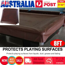 8ft Fitted Pool Snooker Billiard Table Waterproof Cover Fitted Heavy Duty Vinyl