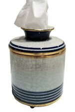 """""""Raffles"""" Porcelain Tissue Dispenser - Tissue Holder - Tissue Cover"""