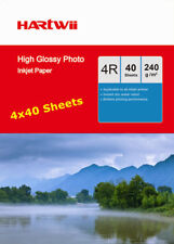 100Sheets +60 Free 230 240Gsm 6x4 Glossy Photo Paper Inkjet Paper 10x15cm 4x6 UK