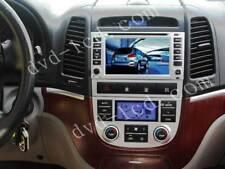 Car DVD Player GPS Navigation System Radio Stereo For Hyundai Santa Fe 2006-11
