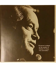 Bob Hope and His Friends. Vintage 1979 Album Insert. LOT OF 5 (Five).NEW!