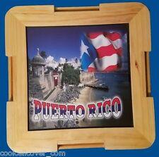 Puerto Rico Mini Dominos Table Souvenirs + Mini Dominos - Rican Boricua 100%WOOD