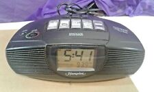 Nature Sounds Alarm Clock AM/FM Radio with MP3 Line In - Hampton HI277B