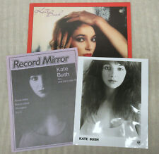 KATE BUSH The Kick Inside 1978 US Promo LP + PRESS KIT Singer-Songwriter #2