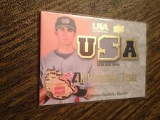 2008 Upper Deck USA NATIONAL TEAM Cameron Garfield ROOKIE JERSEY PATCH RELIC RC!