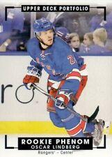 Oscar Lindberg New York Rangers 2015-16 upper Deck Portfolio 320