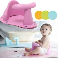 Baby Bath Seat Ring Chair Tub Infant Toddler Bathtub Fun Wash Anti Slip Mat Pad