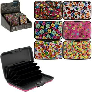 RFID Credit Card Holder Anti Theft Case Protector Contactless Block Wallet