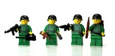Green WW2 Squad US Army Soldier Minifigures made with real LEGO®  minfigures