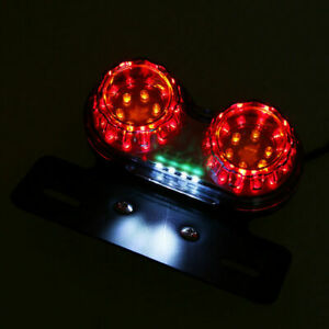 Motorcycle LED brake tail light For Custom Chopper Cruiser Buggy ETC ATV New