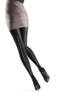 Oroblu, Noemi tights,size L/XL, black With Stud Effect