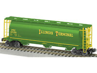 LIONEL 6-48655 AMERICAN FLYER IT CYLINDRICAL 3 B HOPPER  Illinois Terminal