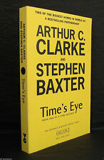 TIMES EYE Arthur C Clarke Steven Baxter UK SIGNED ARC / PROOF 1st TIME ODYSSEY 1