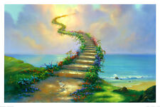 Stairway to Heaven Art Poster Print by Jim Warren, 36x24