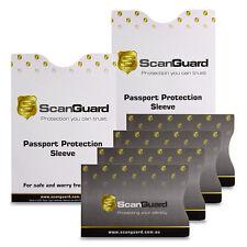 ScanGuard Side Opening RFID Blocking Sleeves - Travel Pack