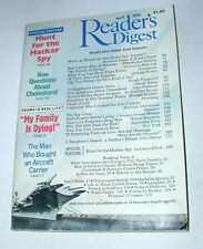 READER'S DIGEST 1990 APRIL S&L SCANDAL;BEN CARSON;GRACIE ALLEN;MAFIA;HACKER SPY
