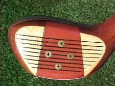 PERSIMMON Macgregor JUMBO M09T Golf Club Refinished Wood Driver w New Tour Grip