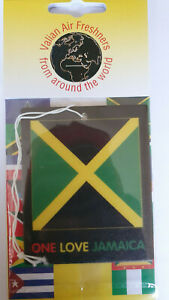 Jamaica one flag flag car Air Freshener