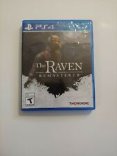 Raven Remastered (Sony PlayStation 4, 2018) COMPLETE THQ NORDIC FAST SHIP PS4
