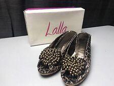 Lalla Women's Cheetah Print Heels