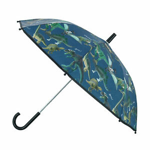New Textiel Trade Kid's Dinosaur Print Stick Umbrella
