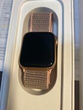 Apple Watch Series 4 44 mm Gold Aluminum Case with Pink Sand Sport Loop (GPS...